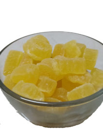 Dry Pineapple coin bowl front